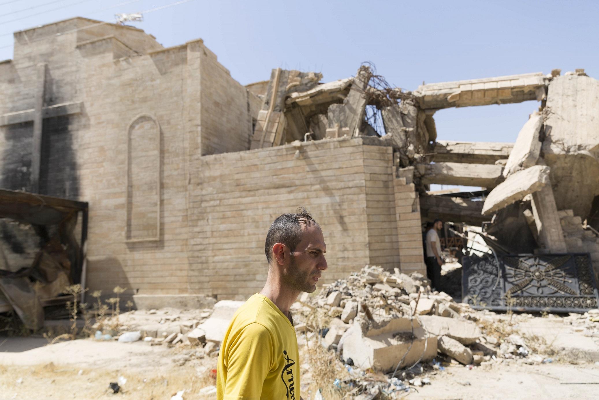 La chiesa di Bartella, Iraq. Foto di E. Confortin.