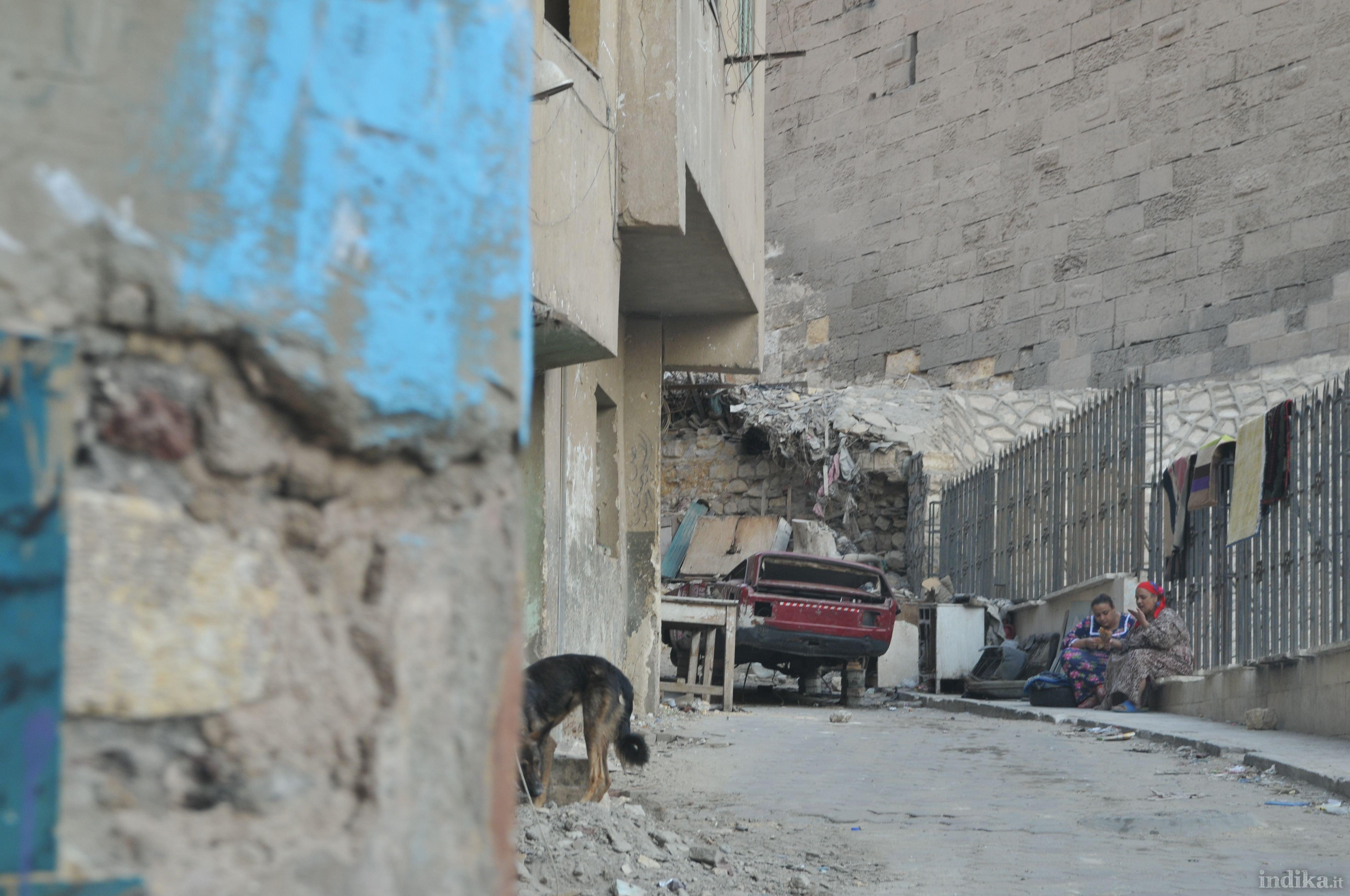 Nei pressi della cittadella - Il Cairo