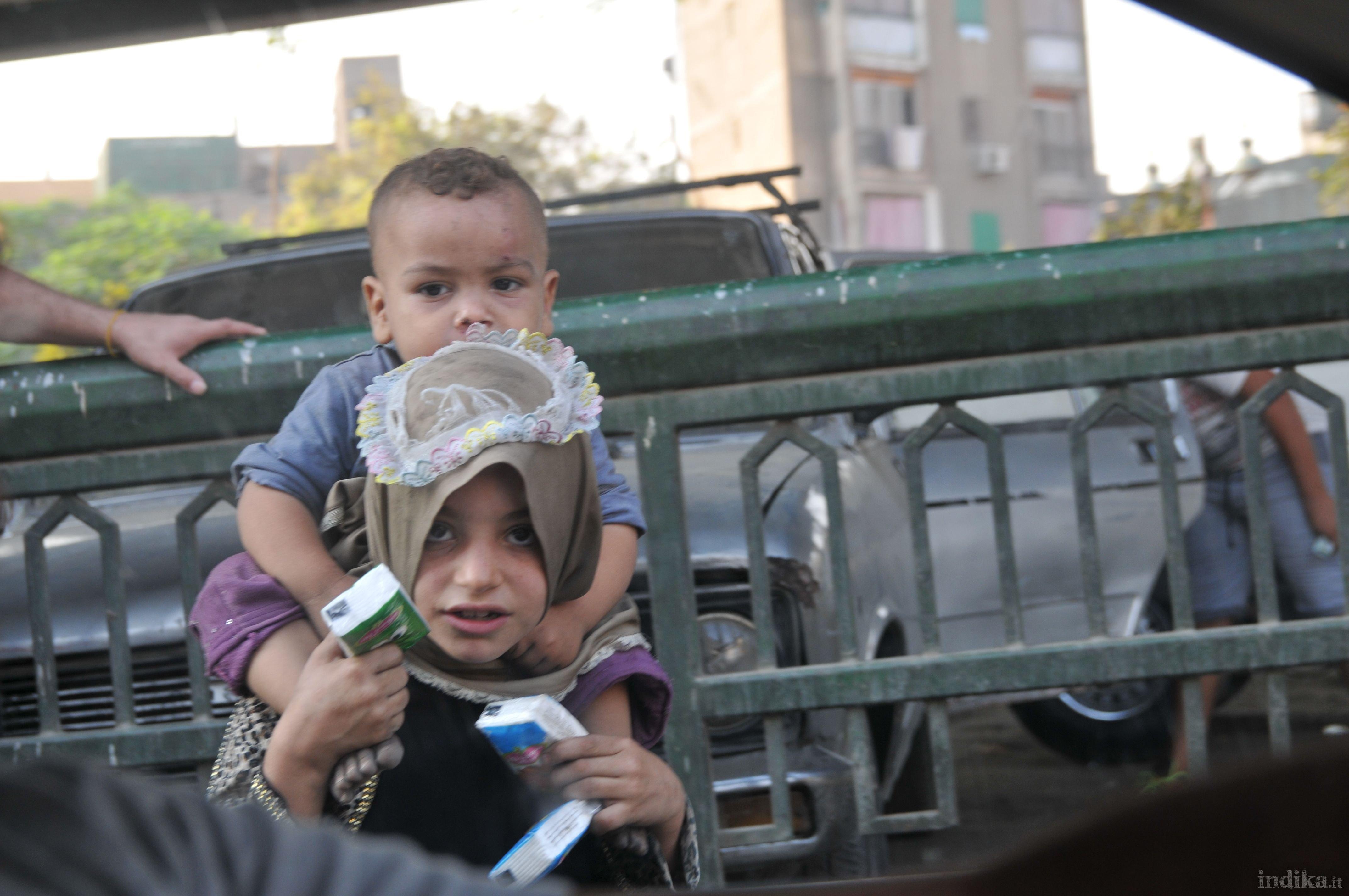 sulle strada del Cairo